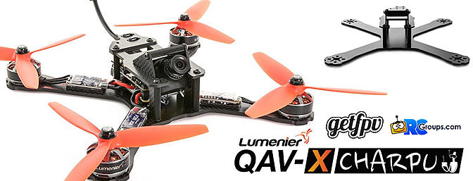 Lumenier QAV-X CHARPU from GetFPV