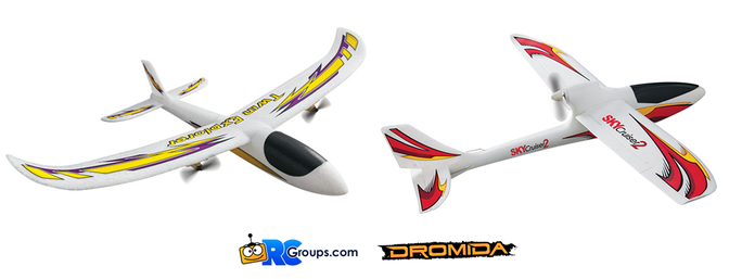 Two New Airplanes from Dromida