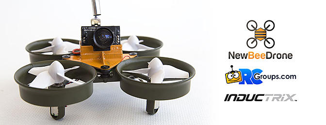 The Tiny Whoop FPV Build - NewBeeDrone BeeDuctrix - RCGroups Review