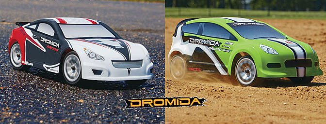 Dromida 1/18th Scale 4WD Vehicles