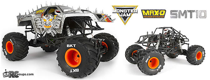 Axial SMT10 MAX-D 4WD RTR