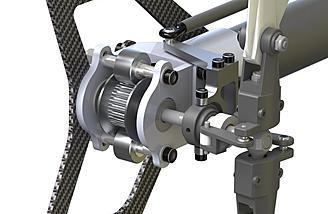 Atom 7HV Ultimate tail rotor