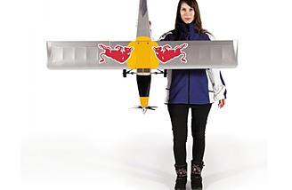 """Pilatus Flying Bulls has a wingspan of 57"""""""
