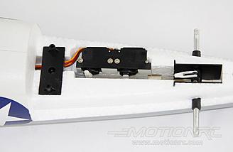 Elevator/rudder setup on the Freewing A6