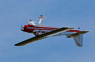 The Valiant is capable of most standard aerobatic maneuvers