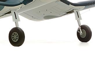 Optional electric retracts on the Hangar 9 F4U-1A Corsair 20cc ARF