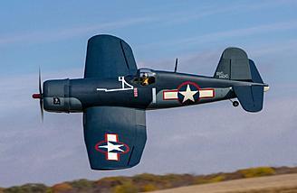 The Hangar 9 F4U-1A Corsair 20cc ARF
