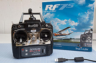RealFlight 7.5 InterLink Elite Controller Edition
