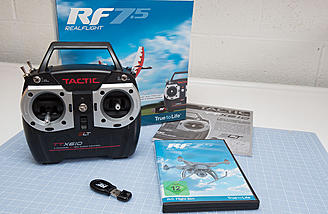 RealFlight 7.5 Tactic TTX610 Radio Edition