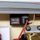Tactic TR324 2.4GHz 3-channel receiver (included in RTR version)