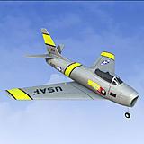 Great Planes Micro F-86 Sabre EDF