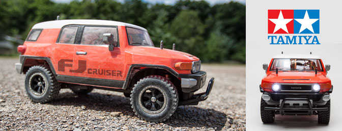 Tamiya FJ Cruiser CC-01 Review