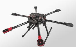 Hexacopter Tarot FY690, Sunnysky 580kv, 30A Opto ESC's, Retracts just add FC and Fly