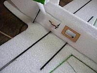Name: DSCN5152.jpg Views: 92 Size: 167.1 KB Description: Light Ply Servo Trays and Lipo Bay Door Tabs