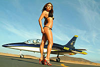 Name: L-39 jet girl.jpg