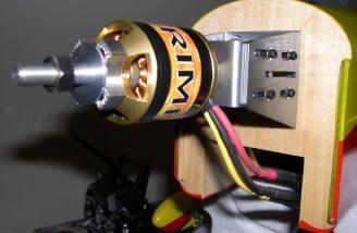 Motor installed