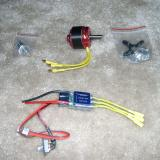 Recommended Torque 2818-900 and Airboss 35 ESC.