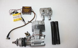 Nice Super Tigre 3000 W/Muffler Electronic Spark Ignition Conversion $115.00 SHIPPED!