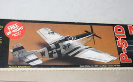 Vintage House of Balsa P-51 Mustang 20 Kit NIB $50.00 FREE SHIPPED!!!
