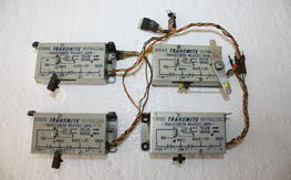 4 Very Vintage Bonner Transmite Transisterized Relayless Servos $75.00 FREE SHIPPED!!