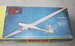 Vintage Sterling Models Cirrus Scale Glider Balsa Project Kit $35.00 FREE SHIPPED!!