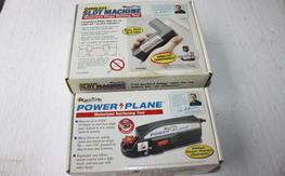 Builders Tools  Great Planes Power Planer & Slotmachine