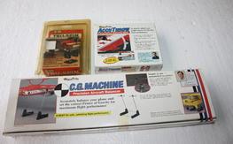 3 Aircraft Set Up Tools...Prop Balancer, CG Machine & Accuthrow Lot $45.00 SHIPPED!!