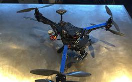 3DR Y6 geared for FPV