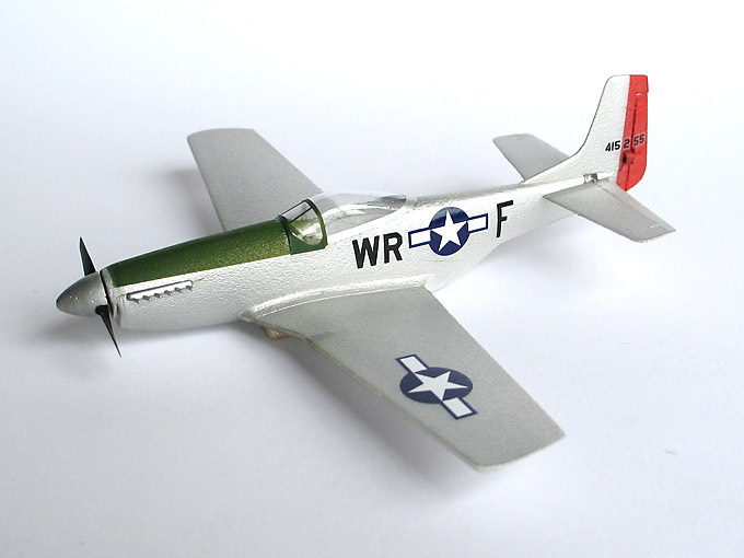 1/72 scale Mustang P-51D   3.2g