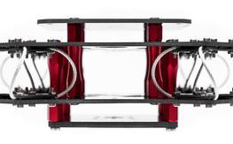Wire Rope Vibration Dampener for DSLR Sized Cameras