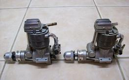 OS FS61 4 cycle engines. x2