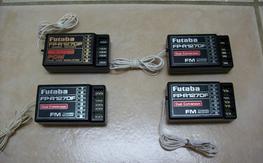 Futaba 72mhz receivers