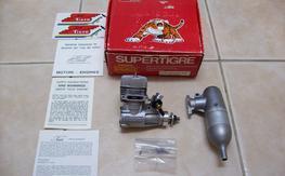 Super Tigre GS40 with muffler