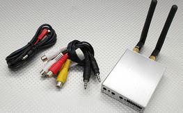SkyZone 5.8GHz 8CH Diversity A/V Receiver w/Dual Output