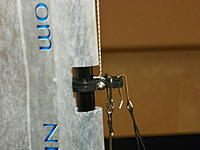 Name: 102_0158 (2).jpg Views: 11 Size: 568.4 KB Description: I removed the SS clips or hooks from the base of the factory's SS wire shrouds and used them to attached the leader to the mast.  Simple solution!