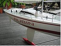"""Name: getuserimage6.jpg Views: 33 Size: 29.2 KB Description: SS clevis set up on Grauper Rubin which is 46"""" long and a pretty heavy boat!"""