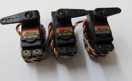 Three (3) Hitec HS-5625 MG Digital Super Torque Servos