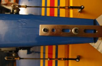 Elevator linkage is all 4-40 hardware.