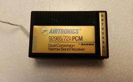 Airtronics 92985/72 PCM Dual Conversion Narrow Band Receiver