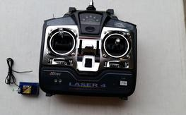 New Hitec Laser 4 and Hitec 4 ch RX