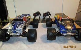 S-maxx & T-maxx Trucks. Good condition