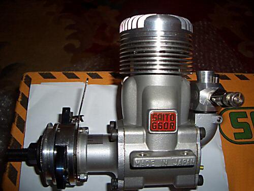 saitos only 2 stroke engine