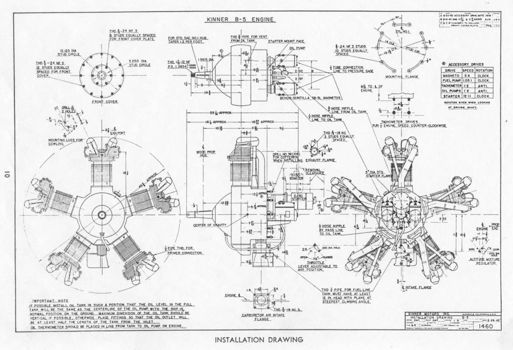 Attachment browser: Kinner B-5 Factory Engine Drawing-sm