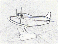 Grumman Albatross black'n'white side view.png
