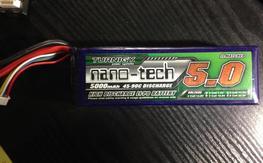 Turnigy Nano-tech Lipo Battery 4s 5000mah 45-90c