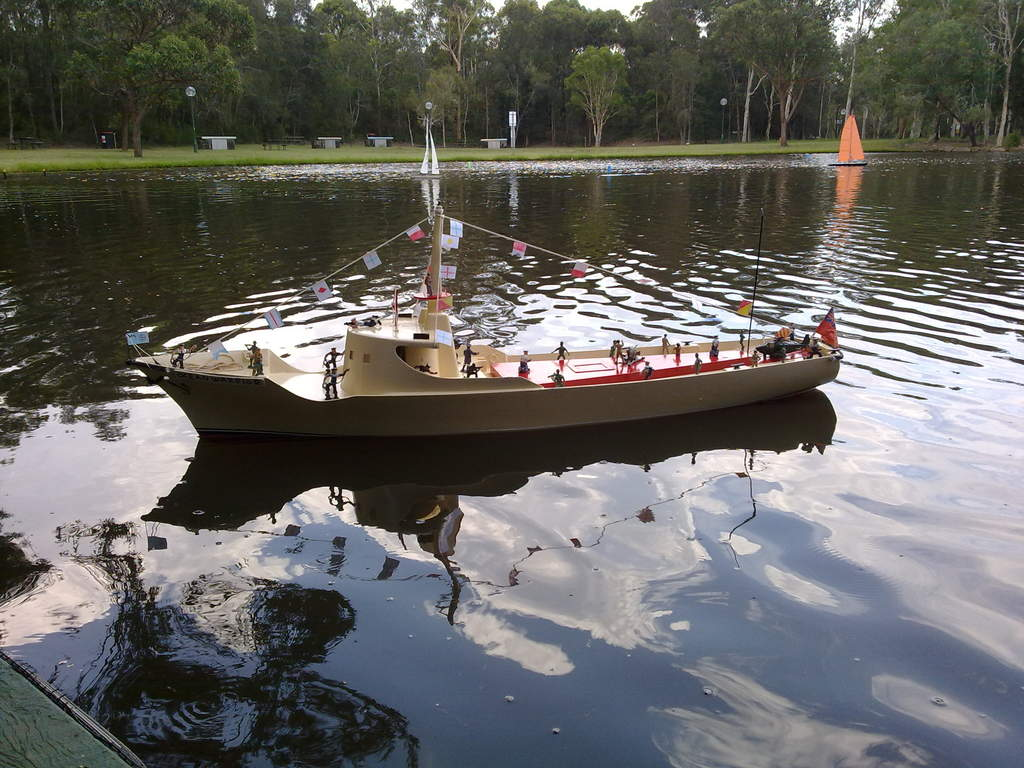 i had it at the boondall rc boat club to day and it run well all day for me