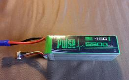 Pulse 6S, 5000mAh 45C LiPo