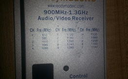 RMRC 1.3 Video Receiver with SAW filter