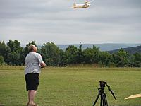 Name: m_DSCF0039.jpg Views: 22 Size: 71.8 KB Description: Jeff launching his 1/2A Privateer modified for 3 channel R/C and electric power.