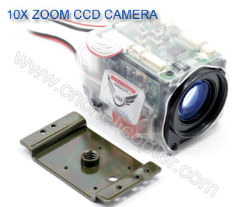 10x optical zoom from CNCHelicopter.com